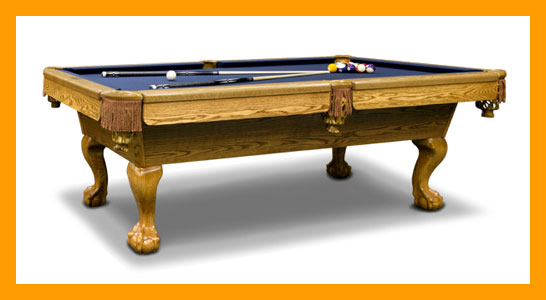 Maple City Billiards Pool Tables - 3 1 2 x 7 pool table